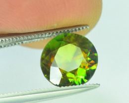AAA Color 1.75 ct Chrome Sphene from Himalayan Range Skardu Pakistan