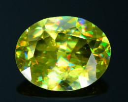 AAA Brilliance 1.26 ct Sphene Rainbow Colors SKu 25