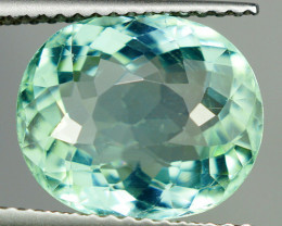 5.14 ct Certified Neon Blue Flawless Copper Bearing PARAIBA TOURMALINE