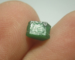 Precious Swat Double Terminated Emerald Crystal From Pakistan