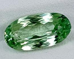 3.90Crt Green Spodumene  Best Grade Gemstones JI132