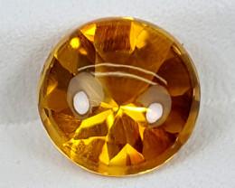 3.40Crt Madeira Citrine  Best Grade Gemstones JI132