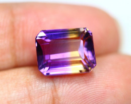 7.38Ct Bi Color Ametrine Emerald Cut Lot B229