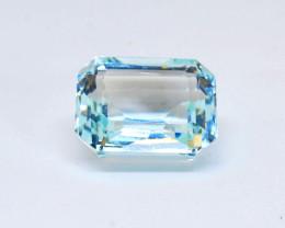 Flawless 16.10 ct Blue Aquamarine LOW RESERVE