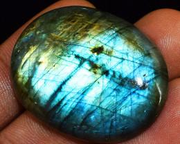 Genuine 86.00 Cts Blue Flash Labradorite Gemstone