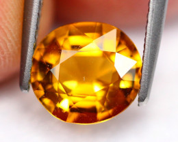1.70Ct Natural Neon Yellow Color Tourmaline ~ FB22/5
