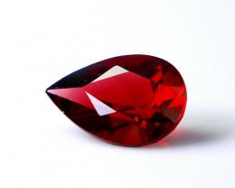 3.45 CT Natural - Unheated Red Rhodolite Garnet Faceted Gemstone