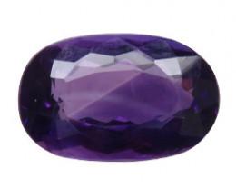 11.79 ct Oval Amethyst  (Deep Rich Purple)