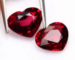 4.62Ct Natural  VS Clarity Purple Color Rhodollite Garnet ~ A28/9
