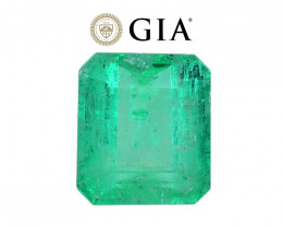 2.00 cts GIA Certified Colombian Emerald - Top Green Color - F1 Oil!