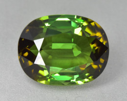 18.03 Cts Wonderful Attractive Natural Green Tourmaline