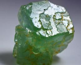 94.00 CT Natural - Unheated Green Fluorite Mineral Specimen