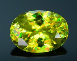 AAA Brilliance 1.60 ct Sphene Rainbow Colors Sku-25