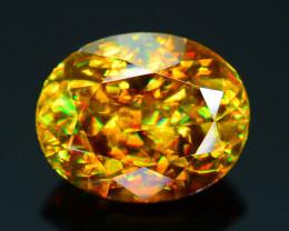 AAA Brilliance 1.90 ct Sphene Rainbow Colors Sku-25
