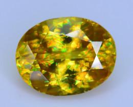 AAA Brilliance 3.18 ct Sphene Rainbow Colors Sku-25