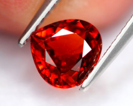 1.98Ct Natural Orangy Red Color Spessartite Garnet A0421
