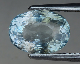 2.77 Cts Aquamarine Awesome Luster and Color ~ Skardu AN20