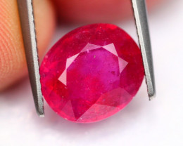4.60Ct Mozambique Pinkish Red Color Ruby ~ Y49