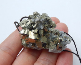 173.5cts New arrival chalcopyrite specimen rough gemstone (A682)