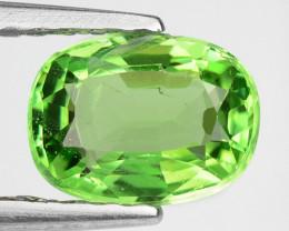 0.88 Ct Tsavorite Garnet Sparkling Luster Gemstone TS1