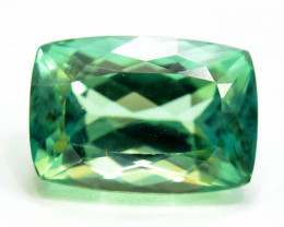 No Reserve 22.35 Carats Lush Green Spodumene from Afghanistan