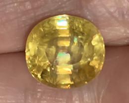 ⭐3.15ctCT TWINKLING GOLDEN YELLOW SPHENE -