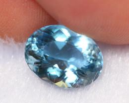 2.91cts Natural vivid Blue Colour Aquamarine /DE46