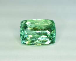 Auction 1 ~ 18.50 Carats Green Spodumene Gemstone From Afghanistan