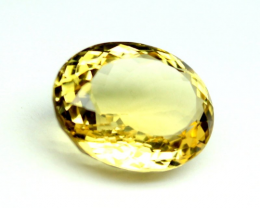 11.55 crt Natural CITRINE Gemstone Faceted Loose Gemstone 222