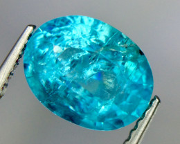 2.27 Crt Natural Apatite Beautifulest Faceted Gemstone.( AG 89)
