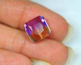 8.75Ct Bi Color Ametrine Emerald Cut Lot LZ1619