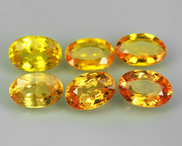3.35 CTS EXCELLENT NATURAL ULTRA RARE FANCY -YELLOW-MADAGASCAR SAPPHIRE