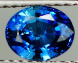 1.07 CT ROYAL BLUE !!! EYE CLEAN CUSTOM CUT SAPPHIRE