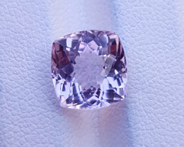4.40 Ct Natural Light Pink Transparent Kunzite Gemstone