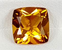 1.50Crt Madeira Citrine  Best Grade Gemstones JI134