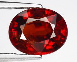 1.94 Ct Spessartite Garnet Pure Red Gem Quality Gemstone SG24