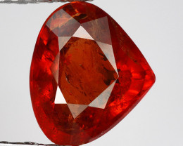 2.10 Ct Spessartite Garnet Pure Red Gem Quality Gemstone SG25