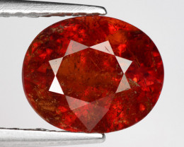 2.74 Ct Spessartite Garnet Pure Red Gem Quality Gemstone SG29