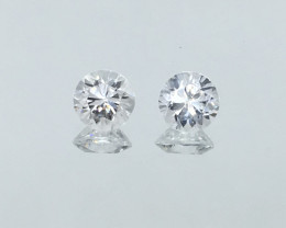 2.26 Carat VVS Zircon Diamond White Stunning Sparkle and Quality !