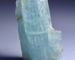 32.40 CT Natural & Unheated Sky Blue Aquamarine Mineral Crystal