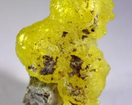 166.30 CT Natural Unheated Rare Yellow Brucite Specimen