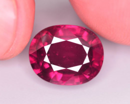 Top Color 6.55 Ct Natural Pinkish Rhodolite Garnet. ARA