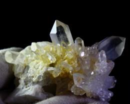 614 CT Natural - Unheated Green Quartz Crystal Specimen