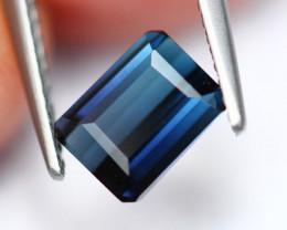 1.45Ct Natural Indicolite Dark Blue Color Tourmaline ~ Z14