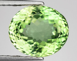 2.89 Ct Green Apatite Good Luster Gemstone AP9