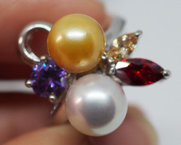 32.40CT  PEARL FROM THE PHILLIPPINES PL45 (Ring Size 6.75)