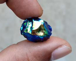 COATED CRYSTAL GEMSTONE Natural+Untreated VA1968