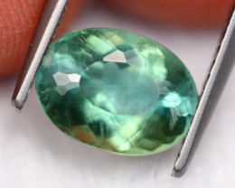 2.16Ct Natural VS Clarity Color Changed Green Apatite ~ FB02