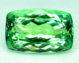 No Reserve 23.50 Carats Lush Green Spodumene from Afghanistan