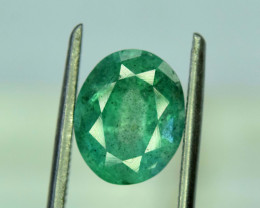 2.60  ^ Carats Emerald Cut Natural Zambian Emerald Gemstone